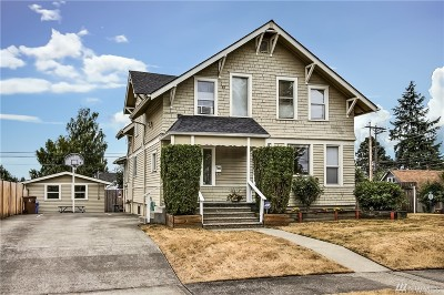 Pierce County Single Family Home For Sale: 4635 S J St