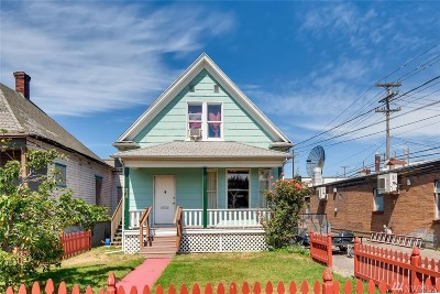 Seattle Single Family Home For Sale: 318 S Orcas St