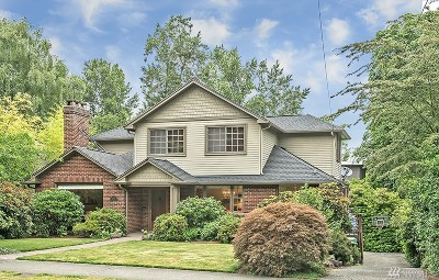 Seattle Single Family Home For Sale: 1520 E McGraw St
