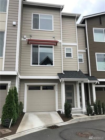 Renton Single Family Home For Sale: 351 Vashon Ct NE