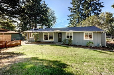 Newcastle Single Family Home For Sale: 8249 118th Ave SE