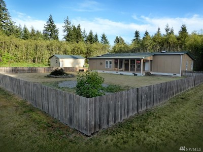 Lewis County Single Family Home For Sale: 1332 Centralia Alpha Rd