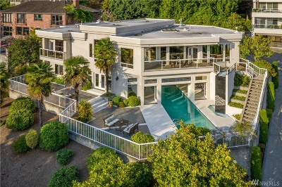 Kirkland Single Family Home For Sale: 4808 Lake Washington Blvd NE
