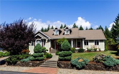 Gig Harbor Single Family Home For Sale: 8409 Granite Dr NW