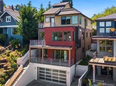Seattle Single Family Home For Sale: 2619 Warren Ave N