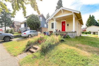 Tacoma Single Family Home For Sale: 1616 S 25th St