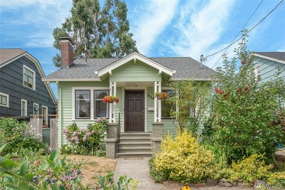 Seattle Single Family Home For Sale: 6241 4th Ave NW