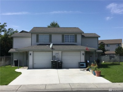 Moses Lake Multi Family Home For Sale: 712 NW Sunburst Ct