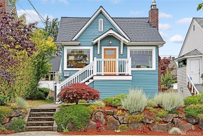 Seattle Single Family Home For Sale: 1136 N 76th St