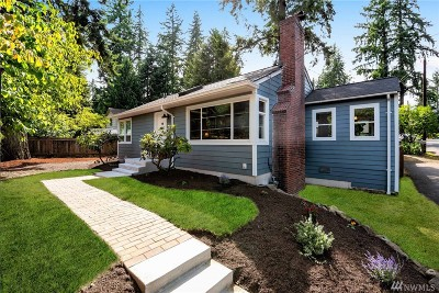 Shoreline Single Family Home For Sale: 411 N 155th St