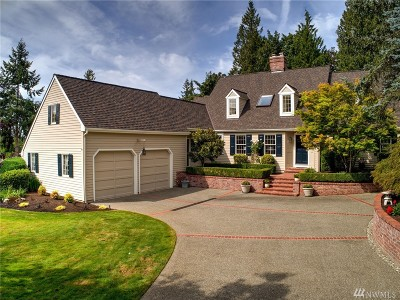 Woodinville Single Family Home For Sale: 20708 NE 142nd St