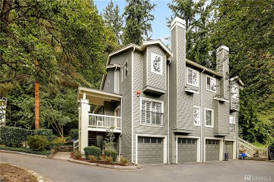 Redmond Condo/Townhouse For Sale: 17617 NE 92nd Ct #1