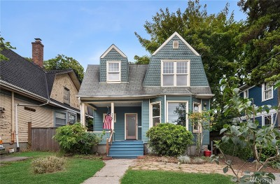 Seattle Single Family Home For Sale: 322 17th Ave