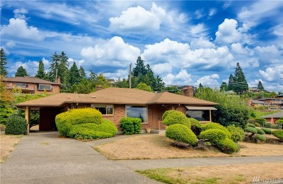 Seattle Single Family Home For Sale: 8720 40th Ave SW