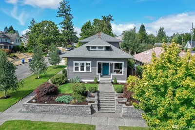 Tacoma Single Family Home For Sale: 2502 N Warner St