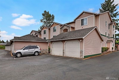 Everett Condo/Townhouse For Sale: 11518 12th Ave W #D105