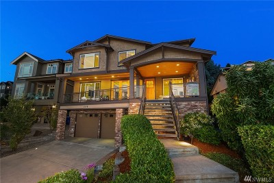Renton Single Family Home For Sale: 3318 Lake Washington Blvd N