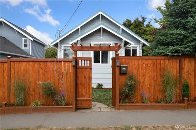Seattle Single Family Home For Sale: 8005 27th Ave NW