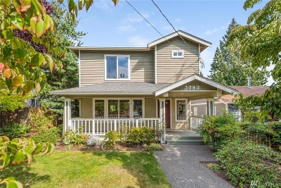 Seattle Single Family Home For Sale: 3742 SW 100th St