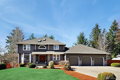 Thurston County, Mason County, Pierce County, King County Single Family Home For Sale: 9516 72nd Ave NW