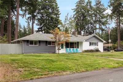 Tacoma Single Family Home For Sale: 11807 Woodbine Lane SW