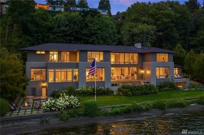 Seattle Single Family Home For Sale: 4911 NE Laurelcrest Lane