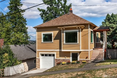 Seattle Single Family Home For Sale: 6208 Fremont Ave N