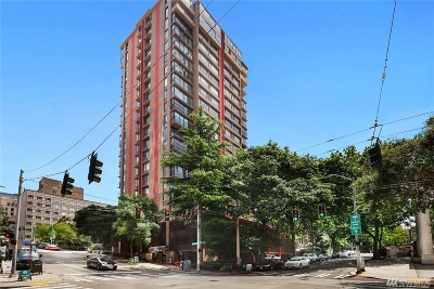 Seattle Condo/Townhouse For Sale: 1120 8th Ave #1504