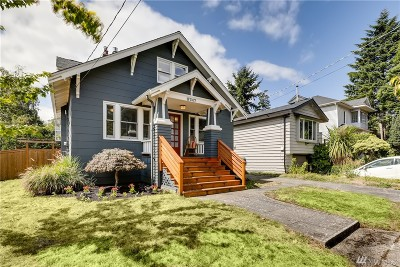 Seattle Single Family Home For Sale: 6747 26th Ave NW