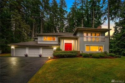 Woodinville Single Family Home For Sale: 18311 NE 204th Ct