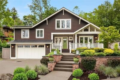 Seattle Single Family Home For Sale: 3304 E Republican St