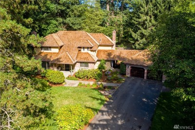 Thurston County, King County, Pierce County, Mason County Single Family Home For Sale: 14640 191st Ave NE