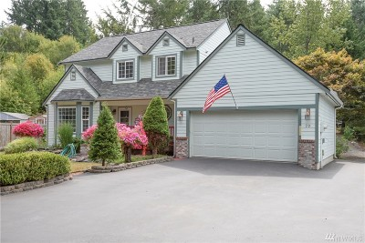 Shelton Single Family Home For Sale: 70 E Rock Wy