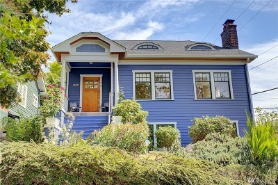 Seattle Single Family Home For Sale: 2738 30th Ave S