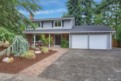 Bellevue Single Family Home For Sale: 12704 SE 65th St