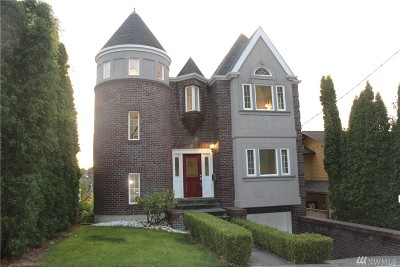 Seattle Single Family Home For Sale: 1721 33rd Ave
