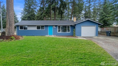 Spanaway Single Family Home For Sale: 19209 Aurora Dr E