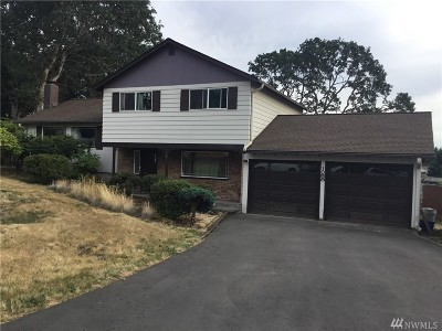 Thurston County, Mason County, Pierce County, King County Single Family Home For Sale: 1058 105th St Ct S