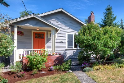 Seattle Single Family Home For Sale: 4810 S Findlay St