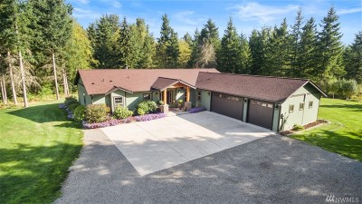 Yelm Single Family Home For Sale: 14330 Mountain Vista Dr SE