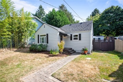 Seattle Single Family Home For Sale: 13532 Ashworth Ave N