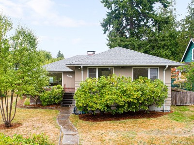 Seattle Single Family Home For Sale: 9604 44th Ave SW