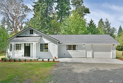 Bremerton Single Family Home For Sale: 3005 Hillside Dr NE