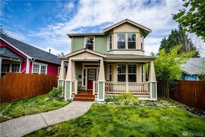 Olympia Single Family Home For Sale: 814 Eastside St NE