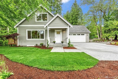 Kirkland Single Family Home For Sale: 12309 80th Ave NE