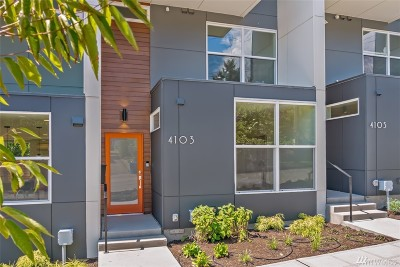 Seattle Single Family Home For Sale: 4105 3rd Ave NW