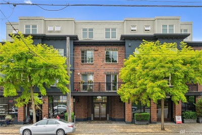 Seattle Condo/Townhouse For Sale: 1909 10th Ave W #206