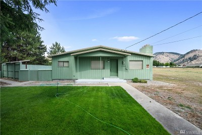 Douglas County, Chelan County Single Family Home For Sale: 6302 Pioneer Dr