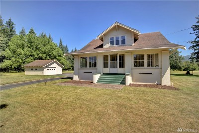 Bellingham Single Family Home For Sale: 3501 Mount Baker Hwy
