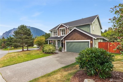 North Bend WA Single Family Home For Sale: $639,000